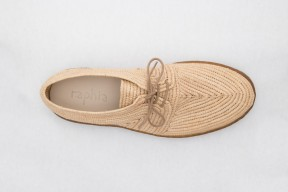 Product photo of Raphia shoe Stura Hevea Sole in the color Natural